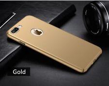 iPhone X pc hard back case Gold