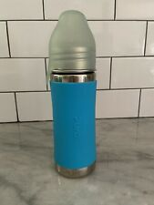 New listing Pura Stainless Steel Kiki Insulated Baby Bottle 9oz Blue