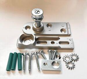 Alpro Universal Bottom Pivot For Aluminium Doors Threshold Floor