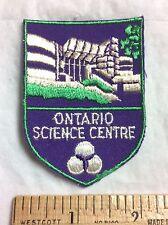 Ontario Science Center Museum Toronto Canada Canadian Souvenir Patch Badge