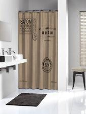 Extra Long Shower Curtain 72 X 78 Inch Sealskin Savon De Provence Linen