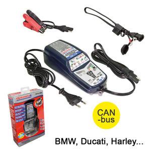 Tecmate optimate 4 TM340 Dual 12V Chargeur Can-Bus BMW, Ducati, Harley Etc. Neuf