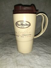 Tim Hortons Plastic Travel Mug