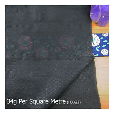 IRON ON 100cm WIDE INTERFACING MATERIAL *3 COLOURS AND 4 WEIGHTS* HABERDASHERY