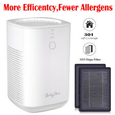 Large Room Air Purifier with 2 Piece H13 TRUE HEPA Filter Remove Allergies Smoke