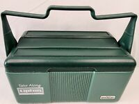 Vintage Lipton Stanley Aladdin Insulated Lunch Box Cooler No Thermos