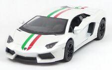 Lamborghini Aventador LP700-4 weiß Sammlermodell ca. 12,7cm Neuware KINSMART