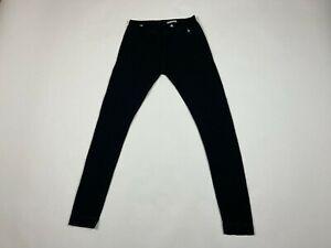 Women's Smartwool Pants Size L Large Merino Wool Base Layer Hiking Black #610