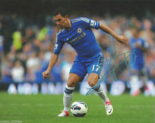 Chelsea FC Eden Hazard Autographed Signed 8x10 EPL Photo COA #7