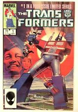Marvel Comics The Transformers #1 1984 #1 In A Four-Issue Limited