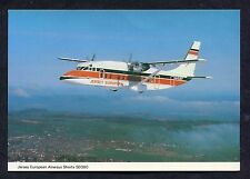 C1980's View of Jersey European Airways Shorts SD360 Aircraft.