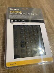 New Targus Flexible Travel Computer Full Size Mobile Keyboard