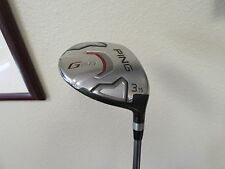 PING G20 FAIRWAY WOOD # 3 15 DEGREE OEM  TFC169 STIFF SHAFT W HC