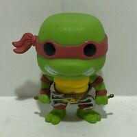 Funko Pop Television TMNT Teenage Mutant Ninja Turtles RAPHAEL #61 (Damaged)