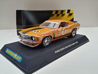 Slot SCX Scalextric Superslot H2436 Ford Boss 302 Mustang '70 Nº15 P. Jones