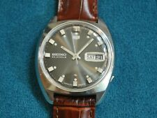Nice Vintage 1971 SEIKO 5126 S.S. 23J Automatic Men's Watch w/Date /Day