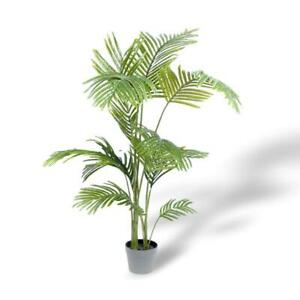 125CM Potted Artificial Areca Palm Home/Office Decor Fake Plant Indoor Flower AU