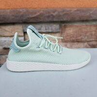 Adidas Pharrell Williams Tennis HU Linen Green Tactile CP9765 Women's US 9
