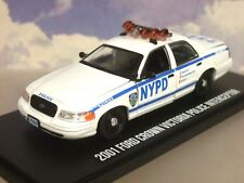 GREENLIGHT 1/43 FORD CROWN VICTORIA NEW YORK POLICE INTERCEPTOR NYPD BLUE BLOODS