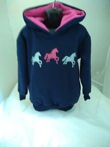 children  nelson ashby equestrian  rosie sparkle hoodie