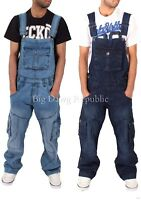 Peviani Mens Ladies Unisex Cargo Combat Baggy Loose Fit Dungarees Time Money Is