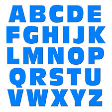 Alphabet Letters Uppercase Blue - MAG-NEATO'S™ Refrigerator Vinyl Magnet Set