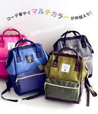 2019 Anello Original Backpack Rucksack Unisex Canvas School Bag Bookbag Handbag