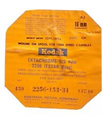 Kodak Ektachrome MS 2256 Estar Base  16 mm 450ft  Expired Sealed Kept in Fridge