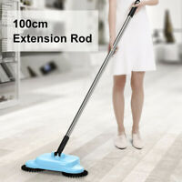 360° Home Spin Hand Push Sweeper Broom Floor Dust Cleaning Mop No Electricity H