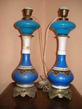 coppia lampade da tavolo epoca 800