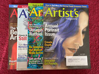 The Artist's Painting & Art Magazine Lot Of 4 April, May, July/aug, & Dec 2009