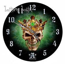 Goth Alchemy Grande Horloge Clock Ronde Tête de Mort Prince of Oblivion Gothique