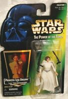 Star Wars The Power of The Force Princess Leia Organa with Laser and Rifle