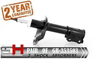 2 NEW FRONT SHOCK ABSORBERS FOR KIA RIO II (JB), ACCENT III/GH-353503P