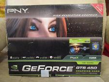 BNIB! PNY NVIDIA GeForce GTS 450 1GB GDDR5 Graphics Card