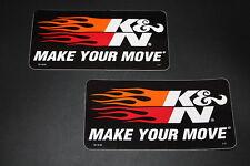 KN k&n Pegatina Sticker Adhesivo decal bapperl autocollant logotipo sign Air Filter