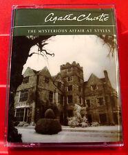 Agatha Christie Mysterious Affair At Styles Hercule Poirot 2-Tape Audio H.Fraser