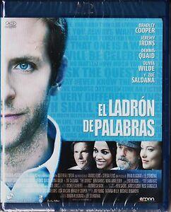 EL LADRÓN DE PALABRAS de B. Klugman Blu-ray Tarifa plana (España) en envío 5 €