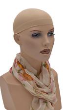 3 x Perückennetz Unterziehhaube Haar Wig Cap Perücke Haube in hautfarbend Beige