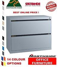 2 Drawer Lateral Filing Cabinet Statewide  Australian Made - 100% feedbk