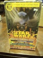 Star Wars Revenge of the Sith movie cards MIB Topps 2005