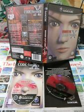 Game Cube:Resident Evil Code Veronica X [TOP & 1ERE EDITION] COMPLET - Fr