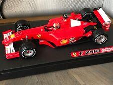 "F1 Ferrari F2001, GP USA 2001, Schumacher ""Hommage Attentats Sep 2001"" 1/18"