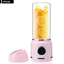 New Portable Juicer Electric Charge Outdoor Mini Machine Pink
