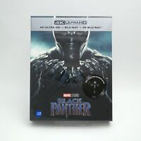 Black Panther - 4K & 2D & 3D Blu-ray Steelbook Full Slip Type A1 (2019) /  WeET