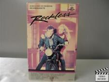 Reckless VHS Aidan Quinn, Daryl Hannah, Kenneth McMillan, Cliff De Young; Foley