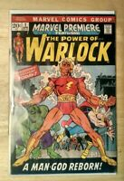 MARVEL PREMIERE The Power of Warlock #1 1ST WARLOCK BY NAME 1972 FAST SHIPPING!