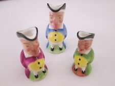 Best Bone Denton China England Miniature Tobey Jug Pitchers 3 Sizes
