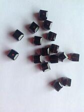 Swarovski Mocca 6mm Cube bead x 2