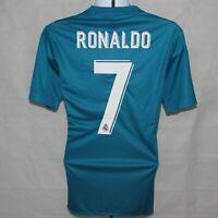 2017-2018 Real Madrid 3rd Football Shirt, adidas, #7 Ronaldo, Medium (**BNWT**)